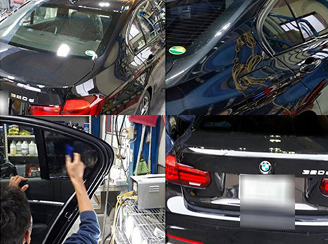 BMW 320 カーフィルム施工