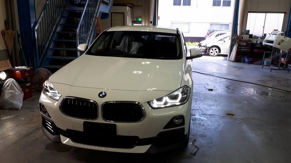 BMW X2 フイルム貼り